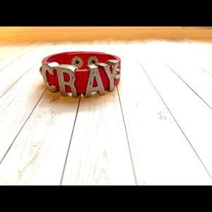 Jewelry - Pink leather bracelet
